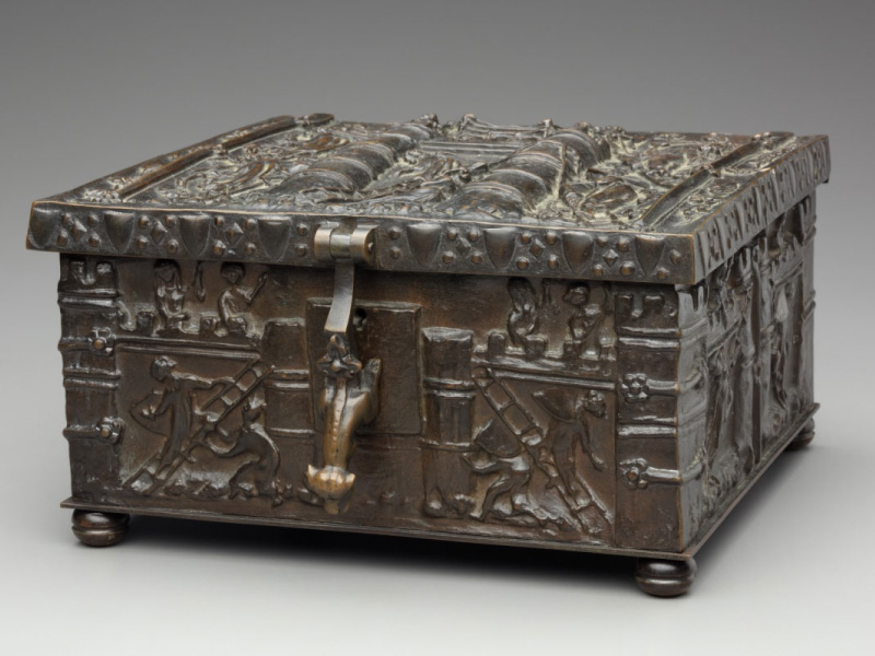 """F67.50-d1-2019-02-07_o2"" - Comparing Similar Bronze Chests To Forrest Fenns Bronze Treasure Chest. Digital Image. Detroit Institute of Arts. February 7, 2019. February 19, 2020. https://www.dia.org/sites/default/files/tms-collections-objects/F67.50-d1-2019-02-07_o2.jpg"