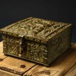 "Fenn, Forrest, ""Fenn's Treasure Chest Closed Lid"" by Addison Doty, ONE HORSE LAND & CATTLE CO."
