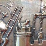 """""""73-4"""" - Vinettis Bronze Replica of The Forrest Fenn Treasure Bird Detail. Digital Image. Vinetti's. April 2019. February 19, 2020. http://www.vinnettis.com/wp-content/uploads/2019/04/73-4.jpg"""