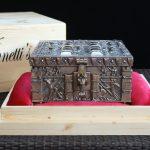 """""""73-1"""" - Vinnettis Bronze Replica of The Forrest Fenn Treasure Chest Front. Digital Image. Vinnetti's. April 2019. February 19, 2020. http://www.vinnettis.com/wp-content/uploads/2019/04/73-1.jpg"""