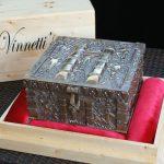 """""""73-2"""" - Vinnettis Bronze Replica of The Forrest Fenn Treasure Chest Front Top. Digital Image. Vinnetti's. April 2019. February 19, 2020. http://www.vinnettis.com/wp-content/uploads/2019/04/73-2.jpg"""