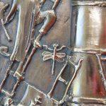 """""""73-5"""" - Vinnettis Bronze Replica of The Forrest Fenn Treasure Chest Ladder Detail. Digital Image. Vinnetti's. April 2019. February 19, 2020. http://www.vinnettis.com/wp-content/uploads/2019/04/73-5.jpg"""