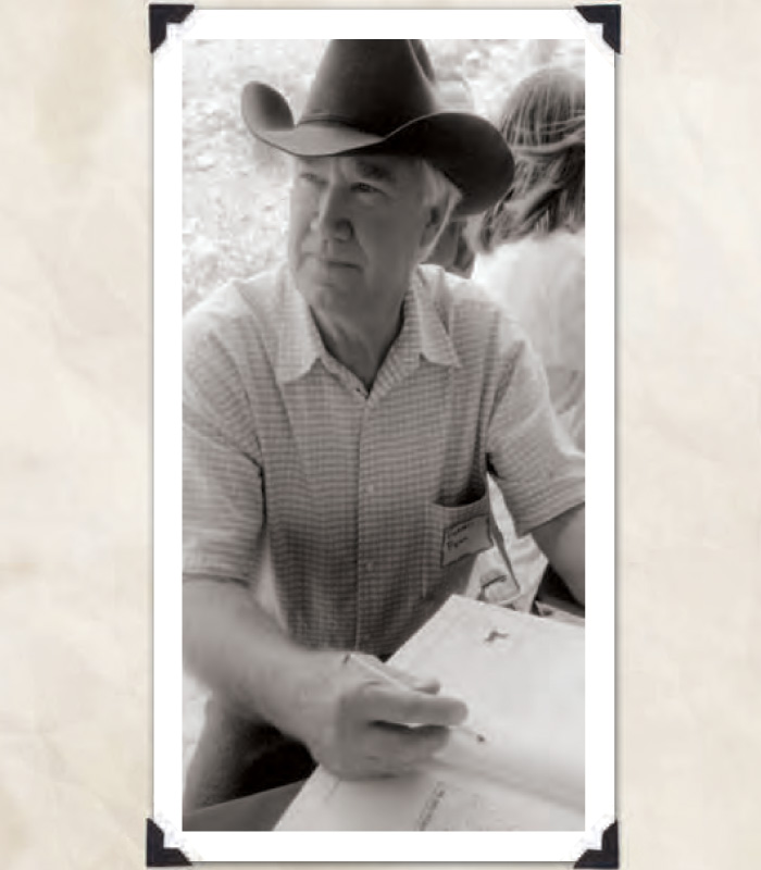 "Fenn, Forrest, ""The Author Signing Books At The Turquoise Mine"", Important Literature: The Thrill of The Chase, 2010, p. 8, ONE HORSE LAND & CATTLE CO."