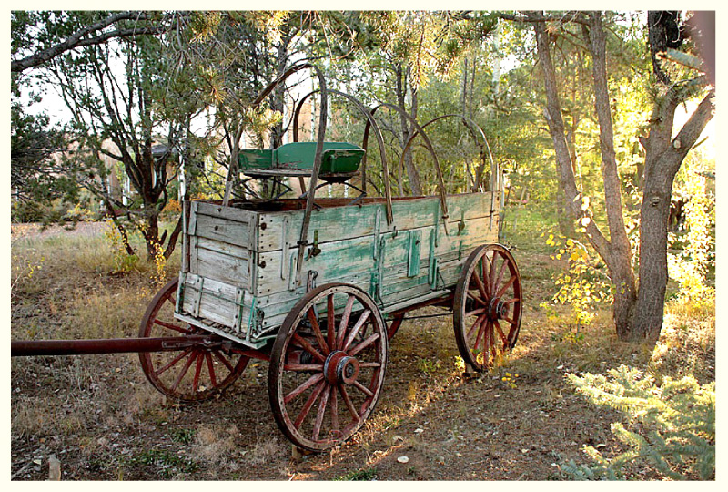 Forrest Fenn's Scrapbook Number Eleven Army Ammunition Wagon From the 1880s