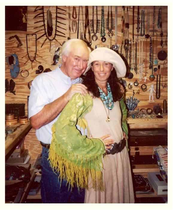 Forrest Fenn's Scrapbook Number Fourteen Forrest Fenn With Donna Karen In The Vault