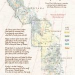 Forrest Fenn's Treasure Map of the Rocky Mountains and Poem