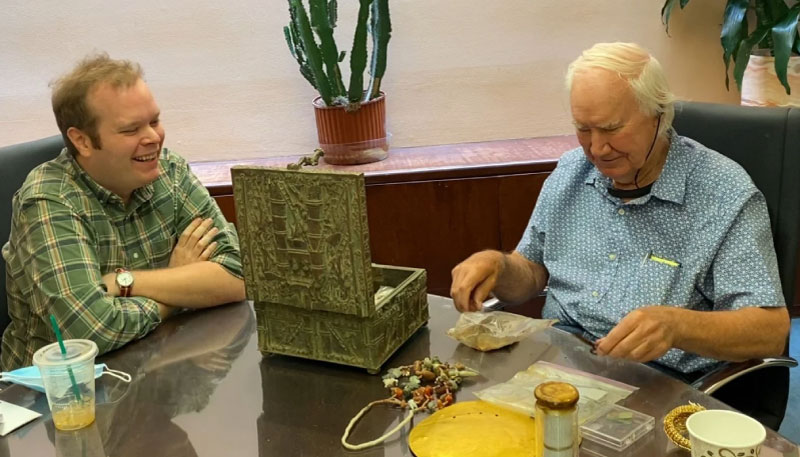 Forrest Fenn and Jack Stuef with Forrest Fenns Treasure, The Finder, outsideonline.com, December 8, https://www.outsideonline.com/sites/default/files/styles/img_1400x800/public/2020/12/06/fenn_h.jpg