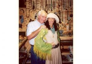 Forrest Fenn's Scrapbook Number Fourteen Forrest Fenn With Donna Karen In The Vault Cover